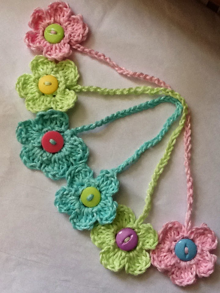 ... Kids: Here it is!! The Crochet Flower Bookmark FREE Pattern