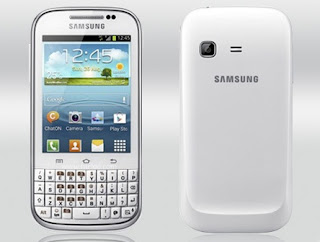 harga hp galaxy chat terbaru, spessifikasi lengkap handphone android qwerty samsung chat, gambar dan foto ponsel seri galaxy chat, smartphone android yang ada qwerty nya apa saja?