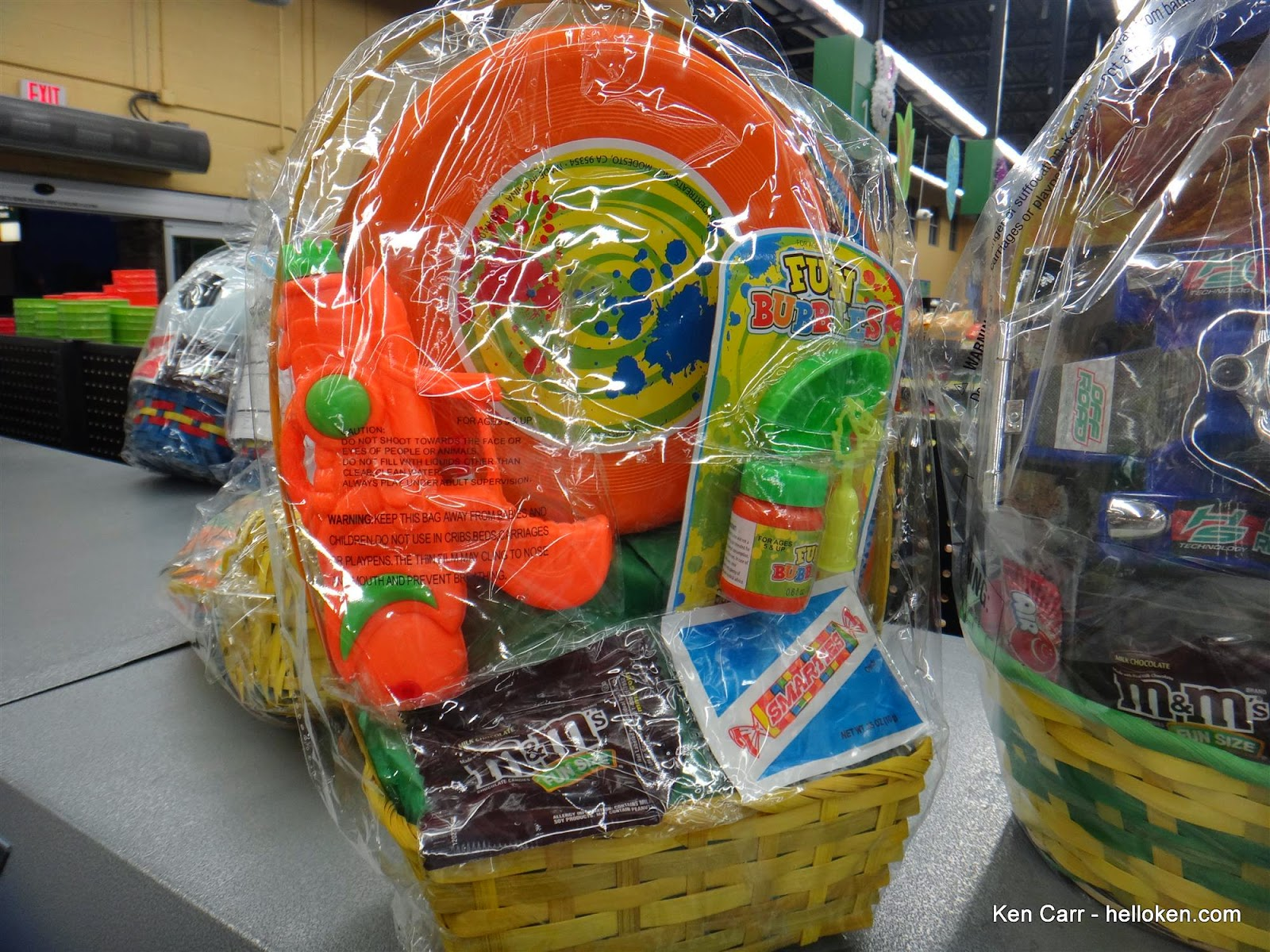 Ken carr blog easter dinner at sonic and kracker nuts unsold easter basket at walmart market some lucky kid is going to get candy and a squirt gun on sale tomorrow negle Choice Image