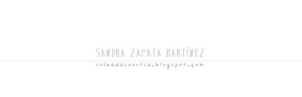 Sandra Zapata Martínez.