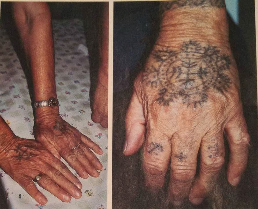 Ecopreacher ash wednesday sermon marked for Tattoos on old skin