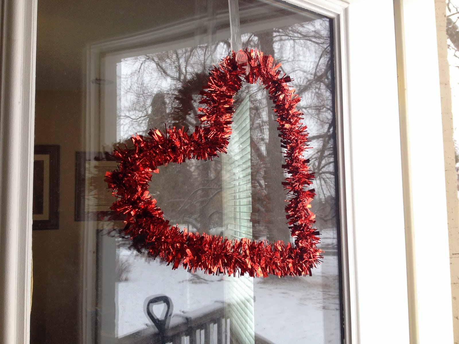 Voice of Reason: Dollar Store Heart Wreath