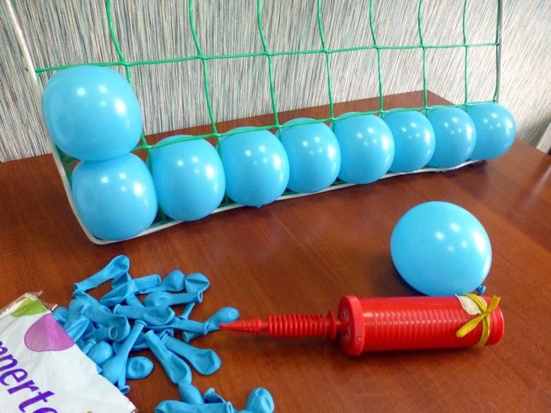 Панно из воздушных шариков своими руками
