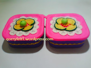 toples hias flanel toping pisang