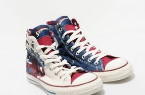 quality design f6a7f c5270 ... red, and blue with Superman art, both come with alternate laces in  blue, white, and red. These are currently available at Size