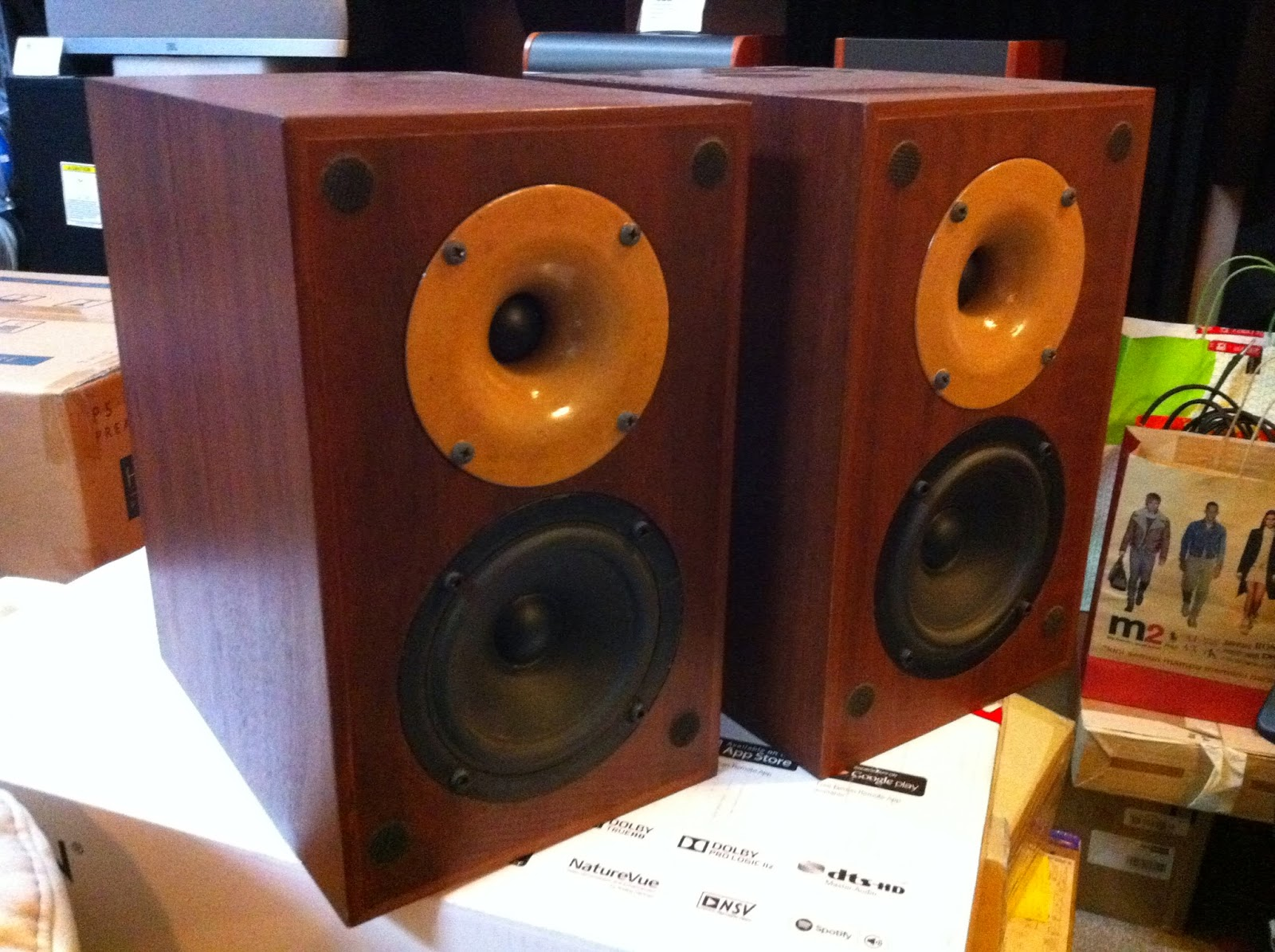 Sonique Model 35 Bookshelf Speakers For Sale Made In Australia