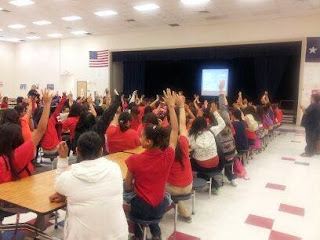 More than 10,000 middle school children received child safety education at El Paso schools.