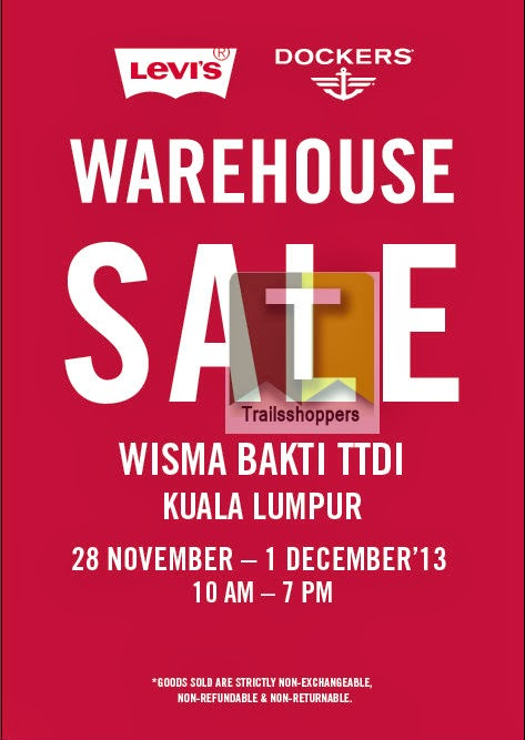 Levi's® & Dockers® Warehouse Sale 2013