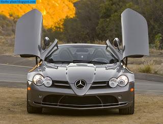 Mercedes slr front view - صور مرسيدس slr من الخارج