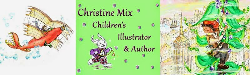 Christine Mix  - Children's Illustrator and Author,