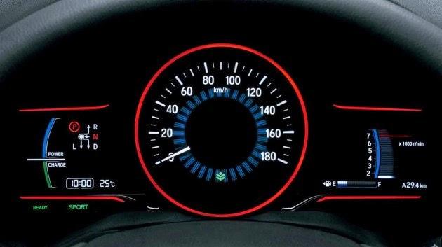 Speedometer Honda HR-V