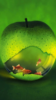 Green Apple HD Wallpaper for iPhone 5