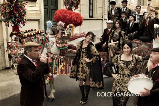 Dolce & Gabbana Campaign Baroque