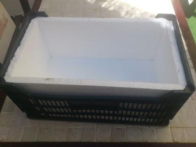 Jardinera con productos reciclados
