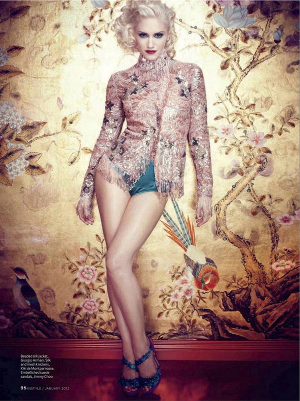 ღ tita fashion blog ღ: Gwen Stefani InStyle UK January 2012 гвен стефани