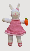 "Zubels 7"" Rattle Knit Doll"