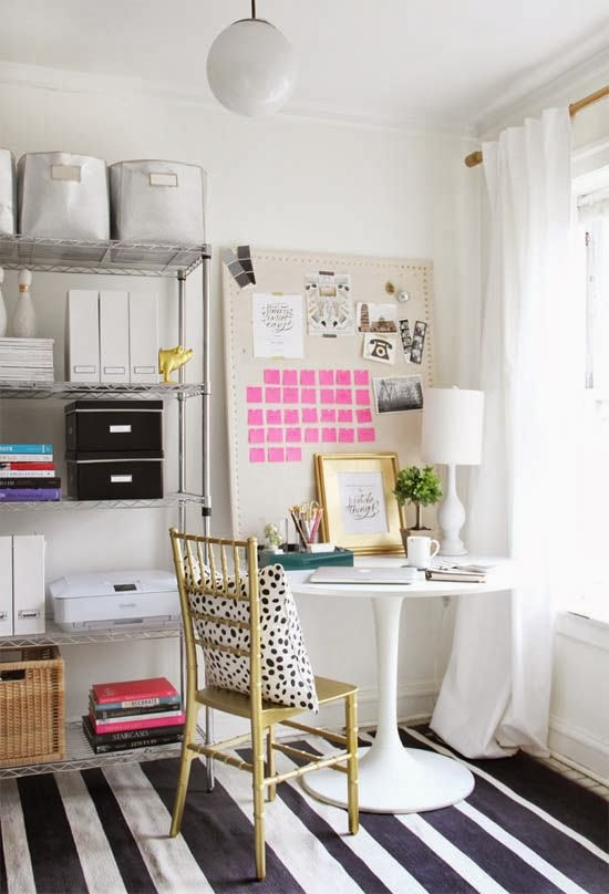 The Lovely Side 10 Inspiring Home Office Spaces For Your