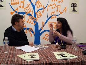 """Marian Giménez presenta su libro de poesía """"De brujas y revoluciones"""""""