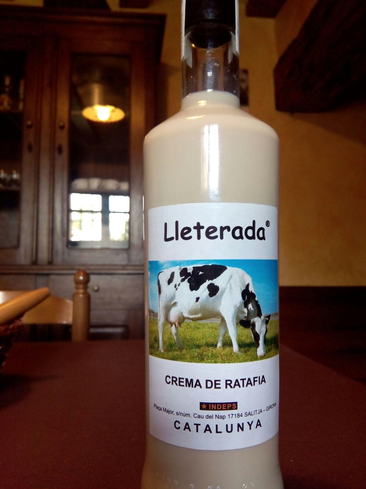 Crema de Ratafia Lleterada (Salitja)