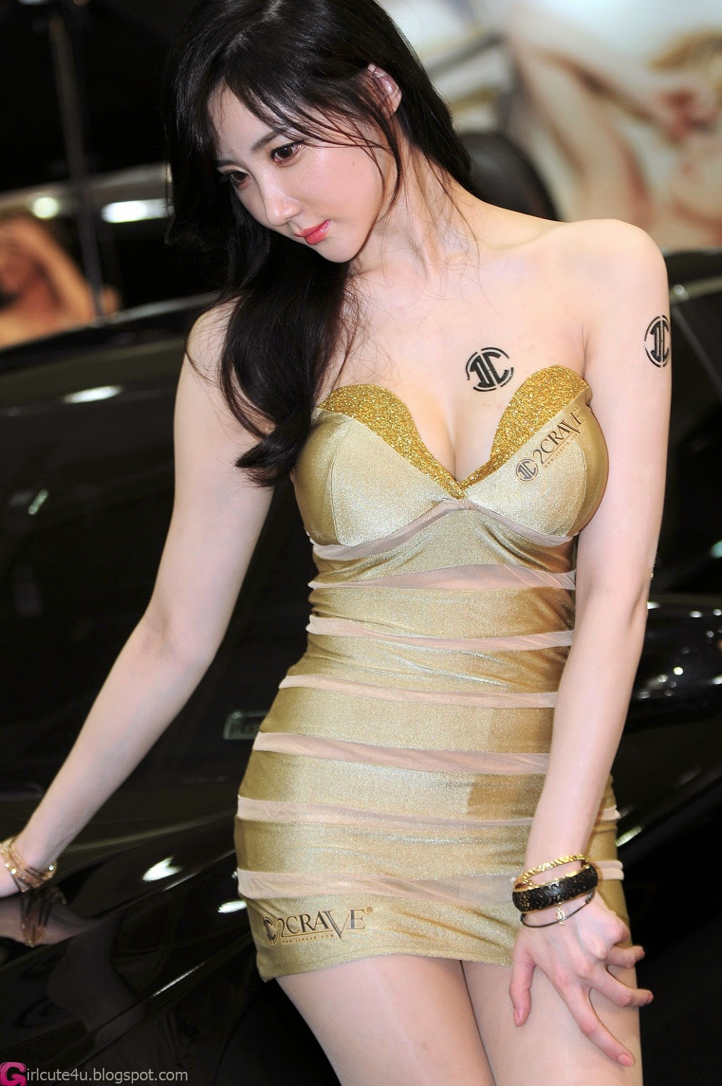 4 Yeon Da Bin - Seoul Auto Salon 2014 - very cute asian girl-girlcute4u.blogspot.com