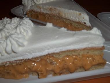 Fatia do bolo de Nozes, que recheio hummmm