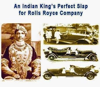 Legends Of India An Indian King S Perfect Slap For Rolls