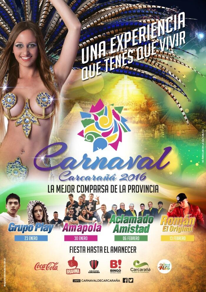 CARNAVALES DE CARCARAÑA 2016