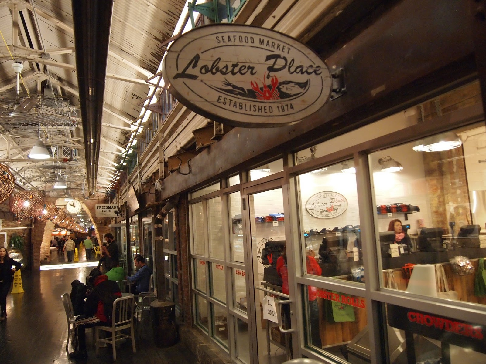 Where is FatBoy ?: New York - The Lobster Place at Chelsea Market
