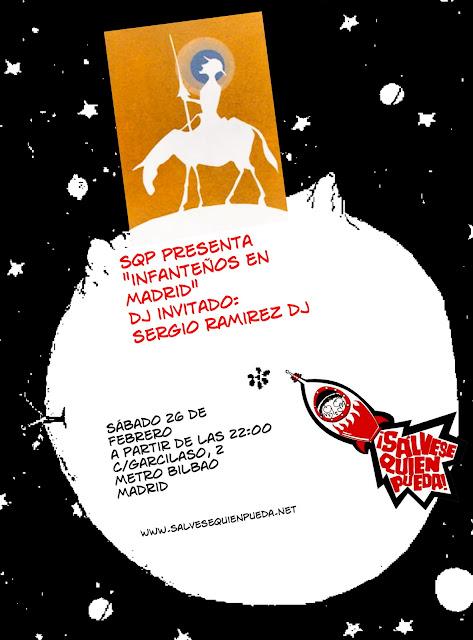 Recuerda: Este Sábado Sergio Ramirez DJ en el SQP (Madrid)