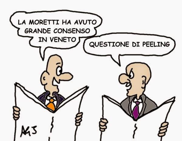 PD, Alessandra Moretti, Veneto, primarie, satira