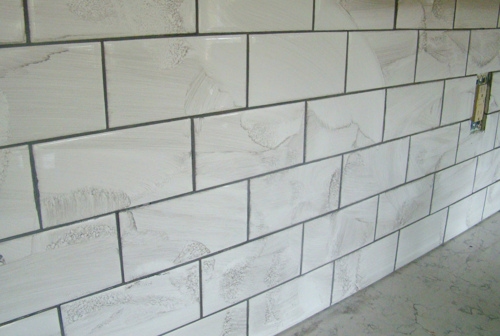 southern bluebird day subway tile backsplash reveal