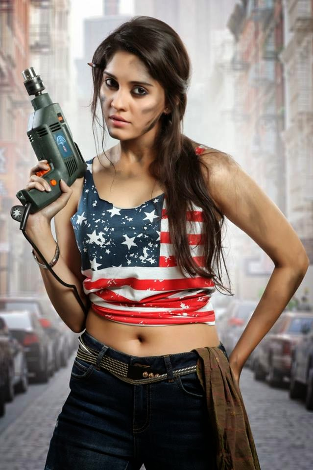 Actress Surabhi New Stills from ‪Attack Movie
