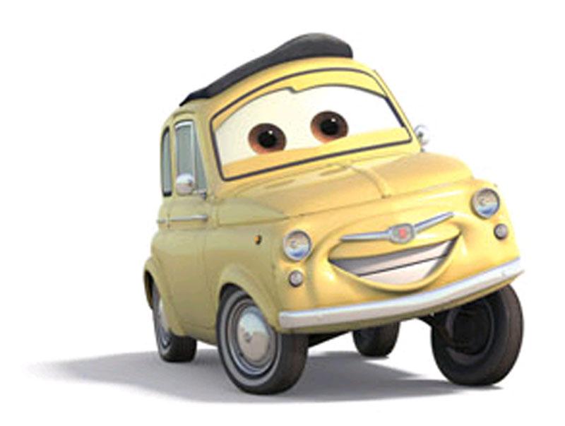 Imprimir dibujos de personajes cars para