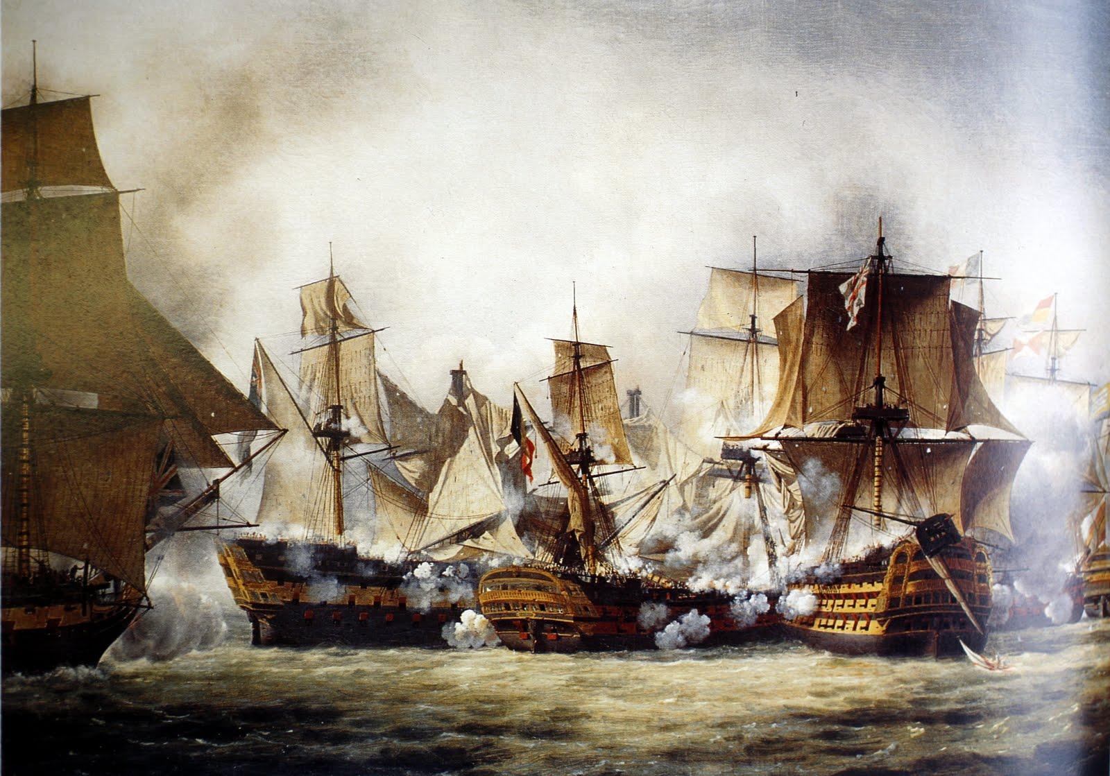 Resultado de imagen de batalla de trafalgar