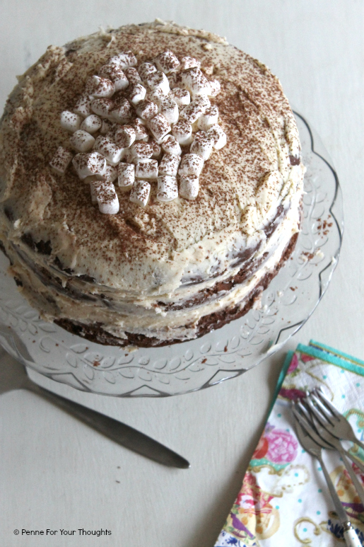 Baileys Hot Chocolate Layer Cake