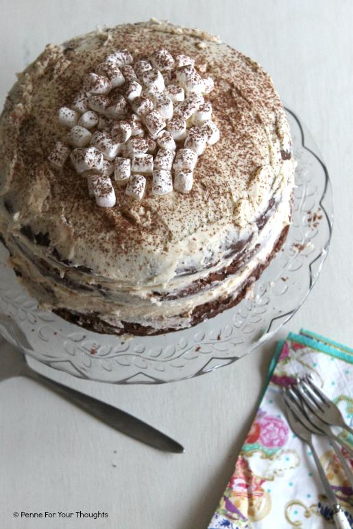 Baileys Hot Chocolate Layer Cake