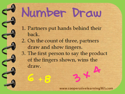 , Go Green with Number Draw