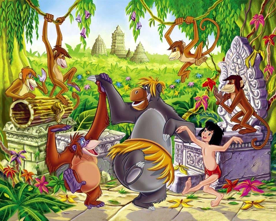 Cartoon Pictures for The Jungle Book (2016) | BCDB