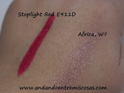 Swatches Wet n widl y W7