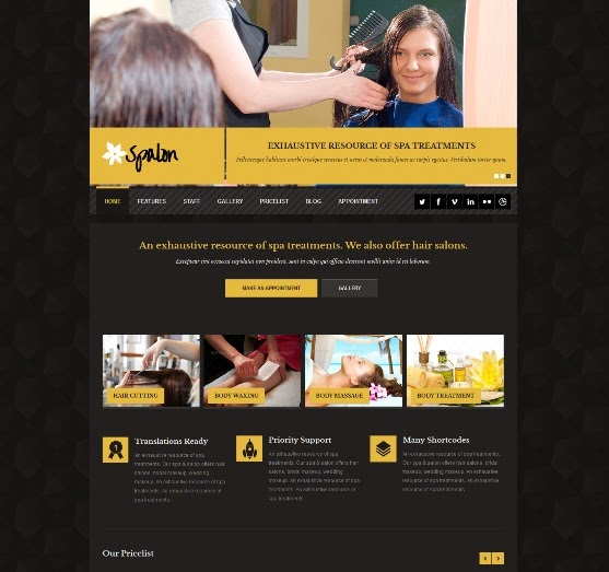 Spalon Responsive WordPress Theme