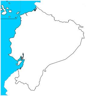 mapa mudo ecuador
