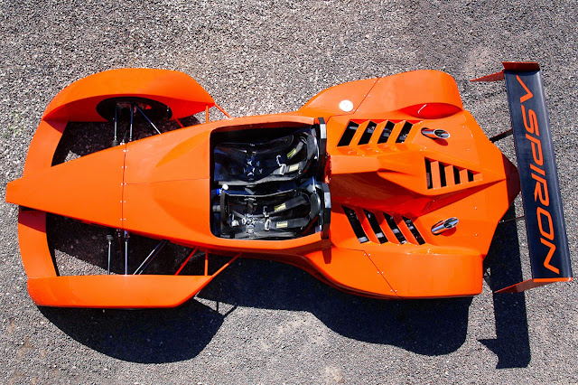 Innotech Aspiron: Trackday Car with the Heart of a Corvette