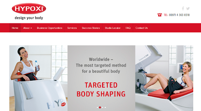 authorized distributor of HYPOXI equipment in the UAE