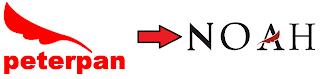 makna logo noah ariel