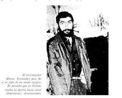 suicidio del investigador Alberto Fernández en 1987, relatado por Iker Jiménez.