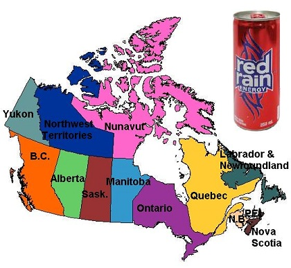 energy drink review red rain