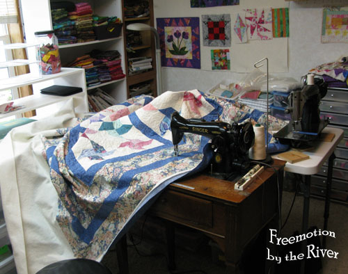 15-91 singer sewing machine for free motion quilting