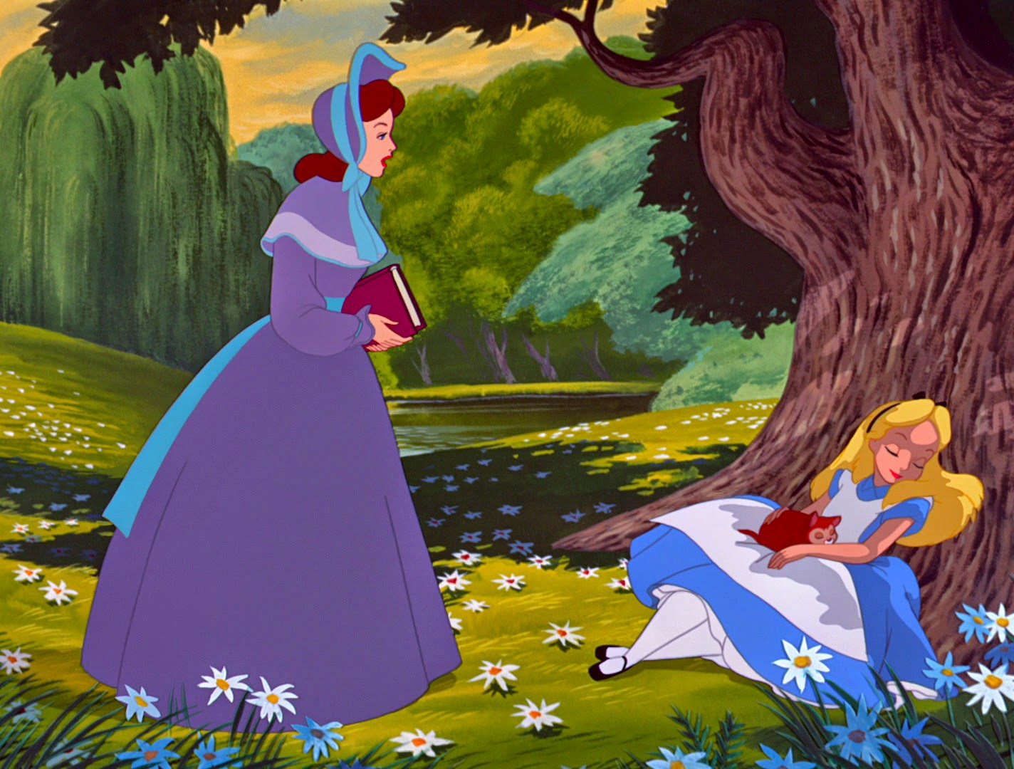 Disney Daze Alice In Wonderland 1951 The Movie