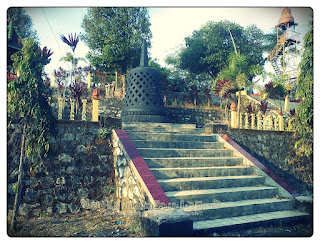 Replika Stupa Borobudur Selo Belah