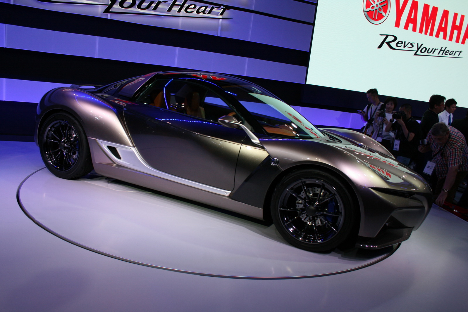 Yamahas New Sports Ride Concept Is The Affordable Carbon Sports - All sports cars 2016